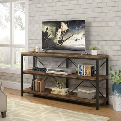 3 Shelf Entryway Console Table for Hallway Living Room Behin