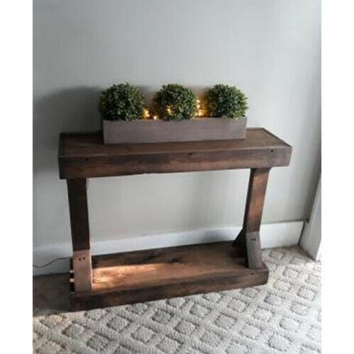 Rustic Table Accent Entryway