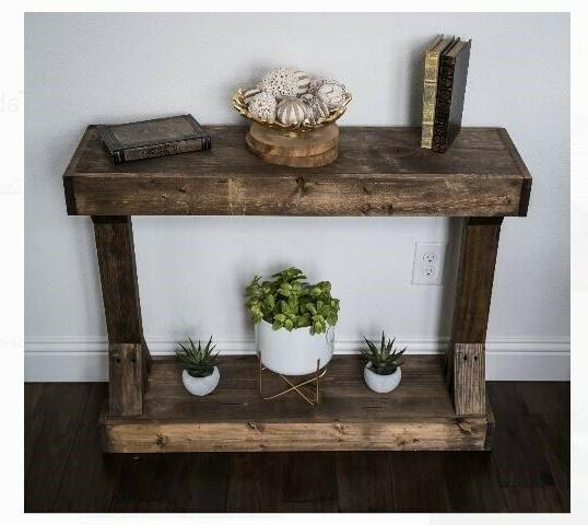 Console Table Accent Country Shabby Chic