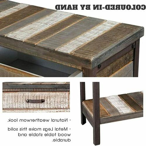 Rustic Table Console Table Coffee