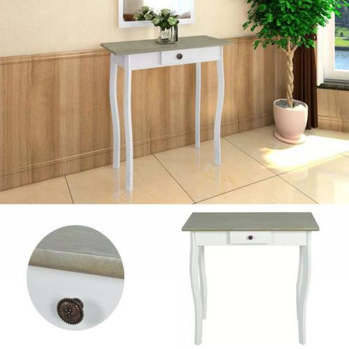 side hallway stand table wood console table