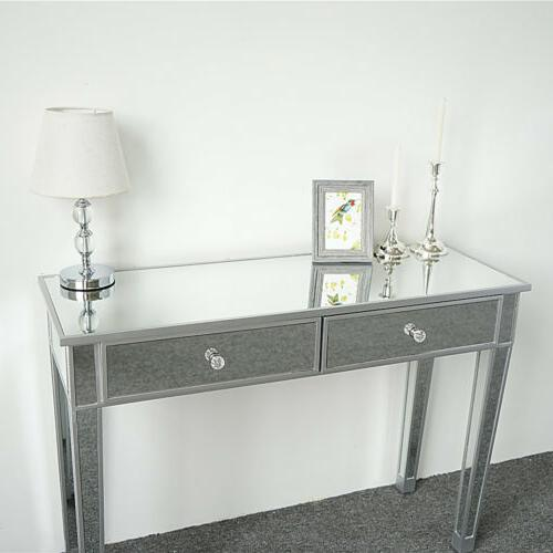 New 2-Drawer Console Table, Desk