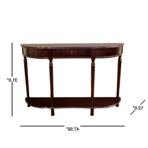 Storage Console Cherry Compliment Living Room