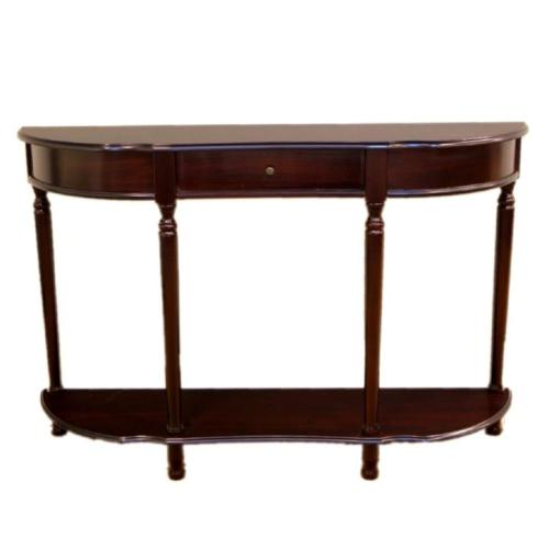 Storage Console Table Cherry Style Decor Compliment Living