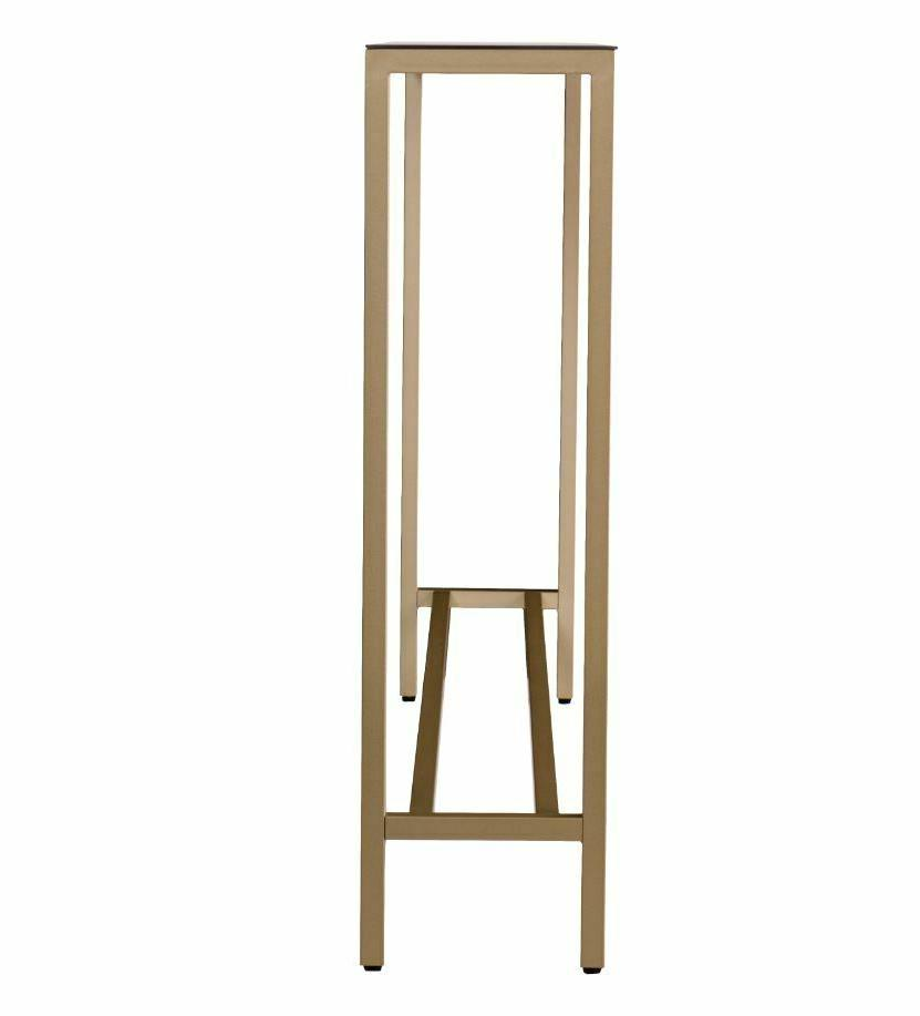 Slim Narrow Long Gold Entryway
