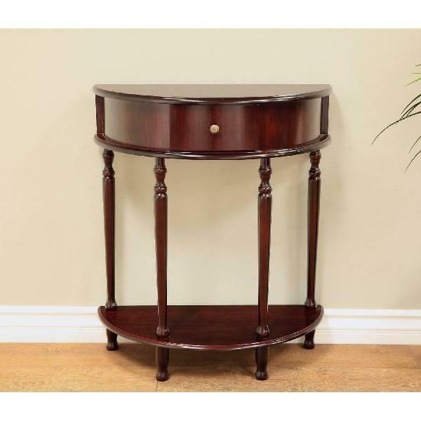 small console table foyer hallway tables