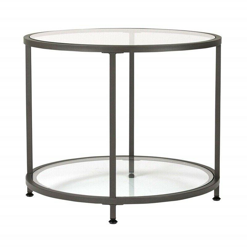Small Round Entrance Console Hall Stand Table With Storage S