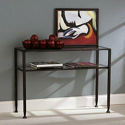 Southern Enterprises Sofa Console Table,
