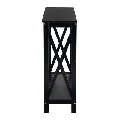 New MDF Table Stand Entryway Tables Black