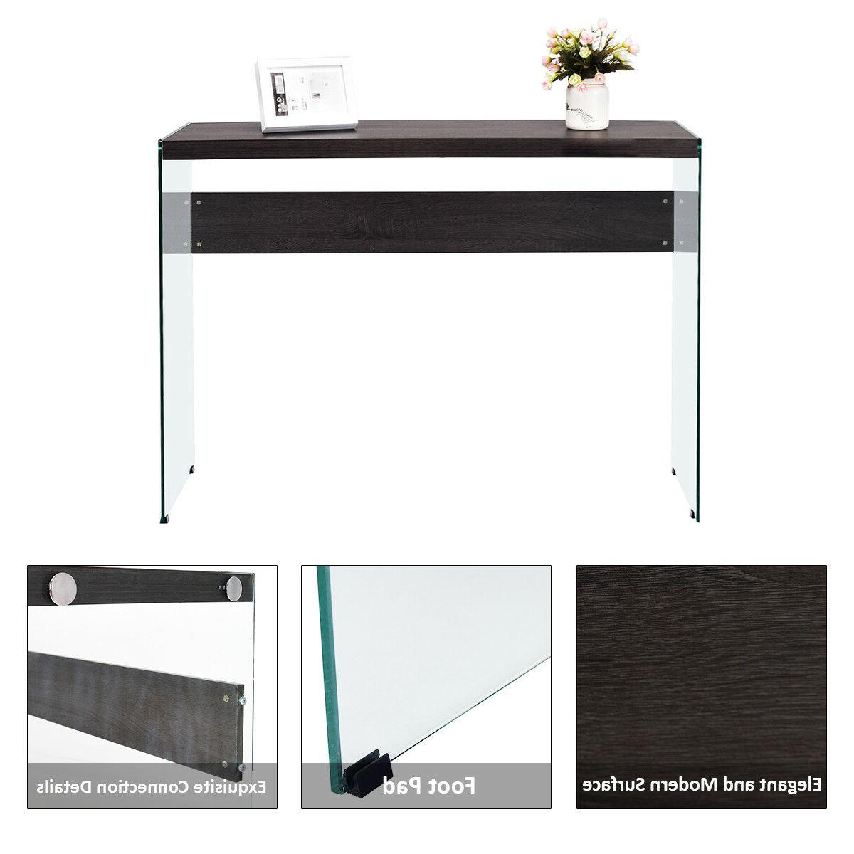 Soho Console Top Glass Entryway New