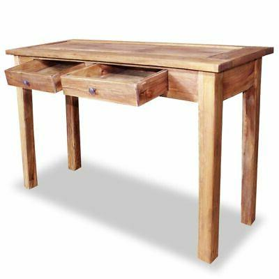 vidaXL Solid Reclaimed Wood Console Table 2 End Entryway