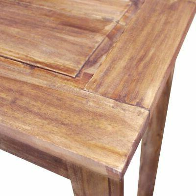 vidaXL Console Table 2 Drawers Entryway