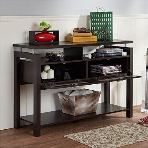 Bowery Hill Storage Table in Espresso