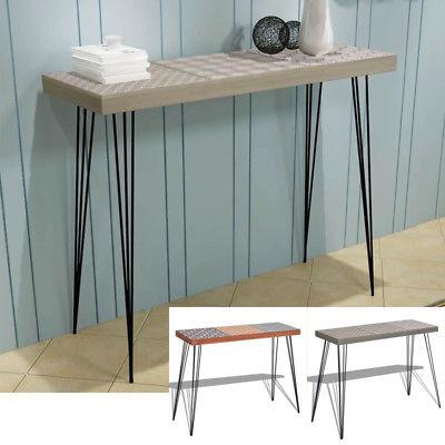 stylish design narrow console table hallway side