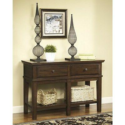 Signature Design by Ashley T845-4 Sofa/Console Table - Mediu