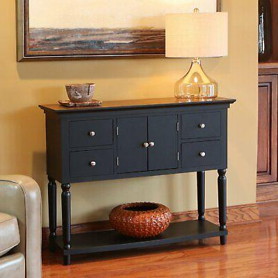 Decor Therapy Four Drawer Table