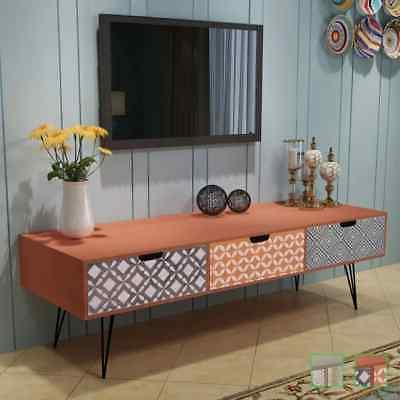 tv cabinet storage drawers sideboard side console