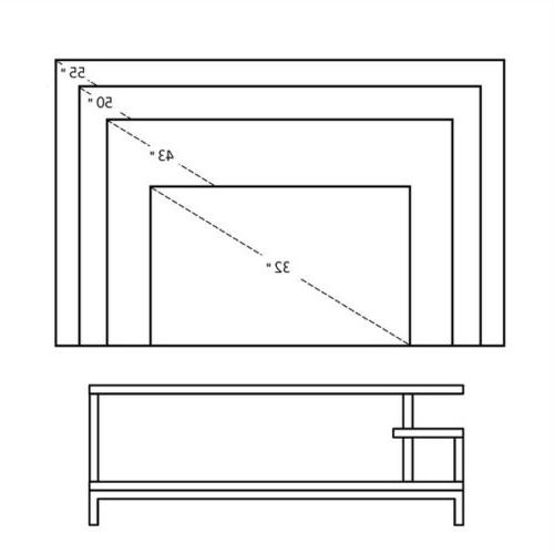 TV Cabinet Console Table Television Center