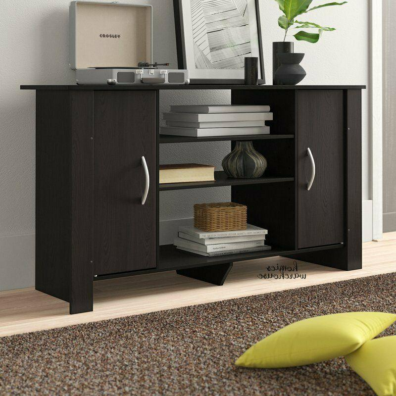 "TV Stand Table 42"" L Media Entertainment Console Storage Cab"