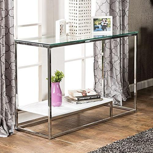 mirage mirrored console