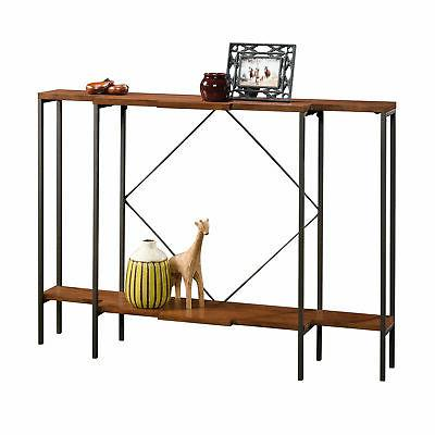 viabella console table warm cherry