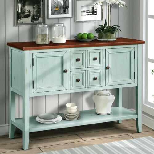 vintage cambridge series buffet sideboard console table