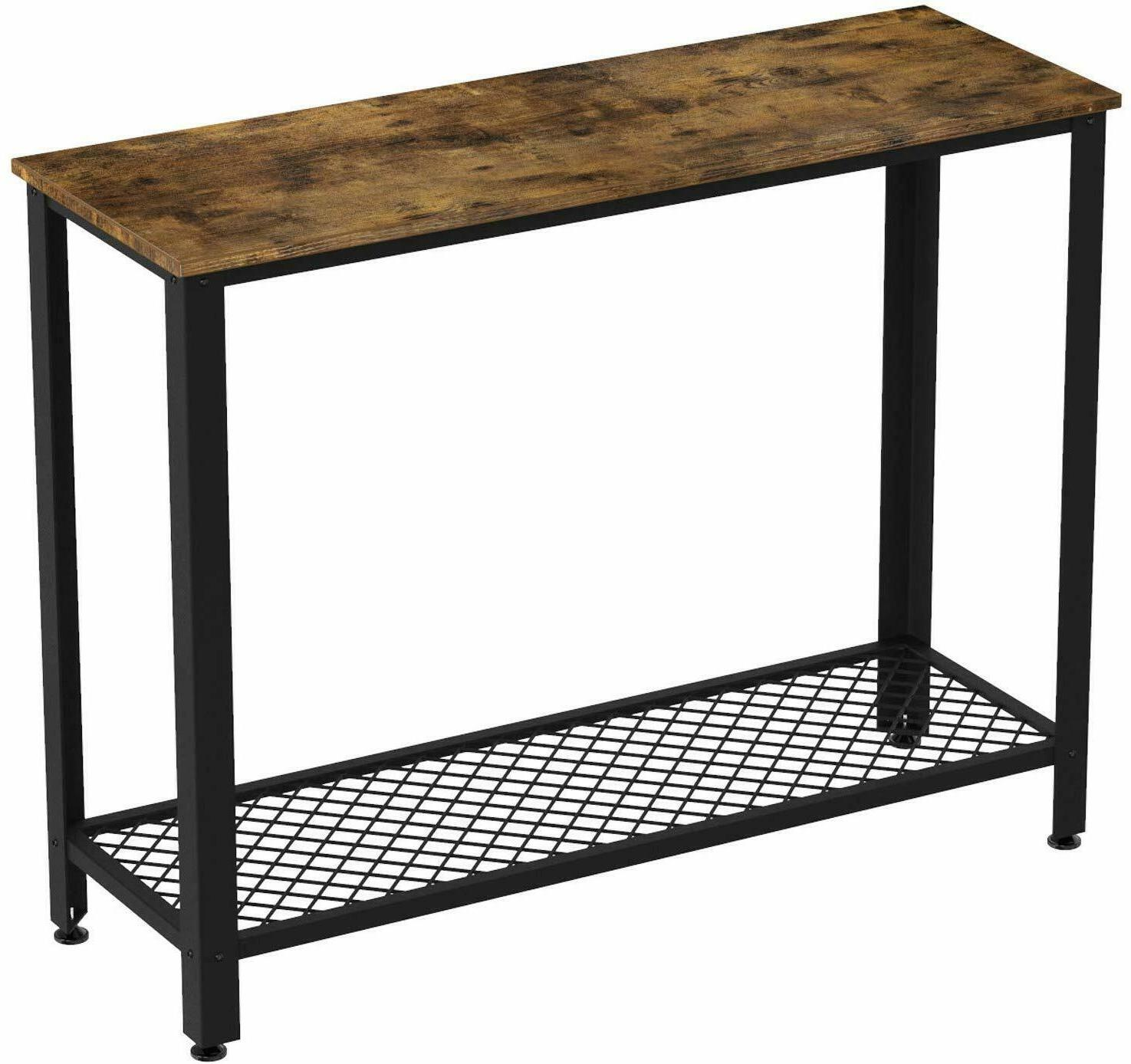IRONCK Vintage Console for Entryway, Entry with Shelf Easy Assembly