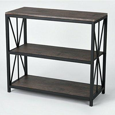 Metal Frame 3-tier Console