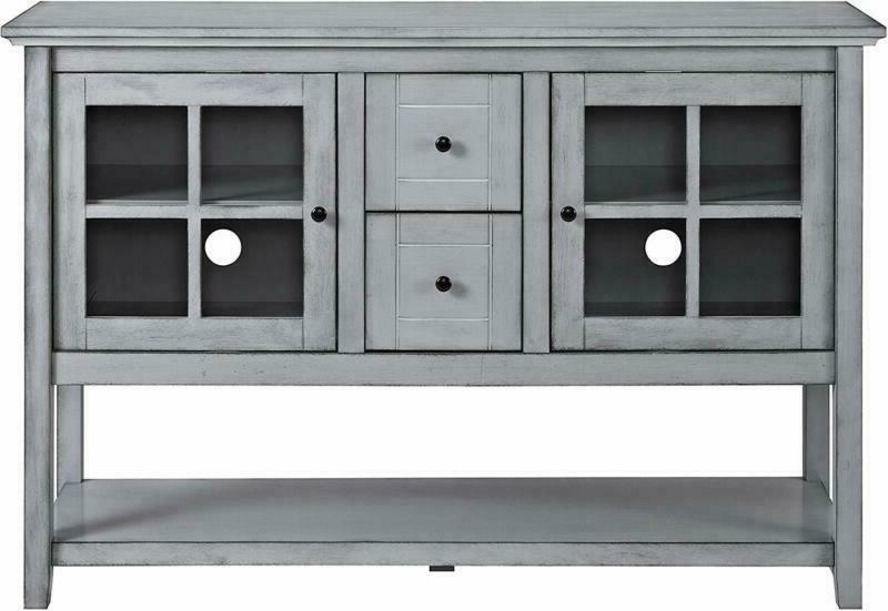 We Console Table Buffet Stand - Antique