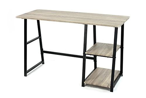 Weathered Writing Study Trestle Modern Vintage Office