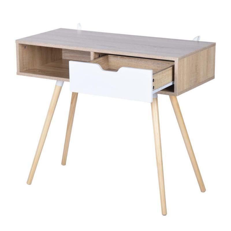 White Console Or Computer Laptop Desk Drawer