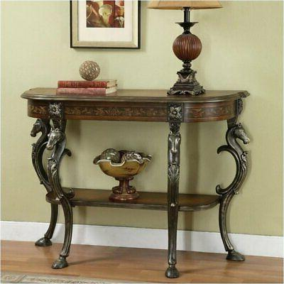 wild horses console table