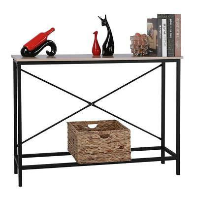 Wood Console Table Stand Hall