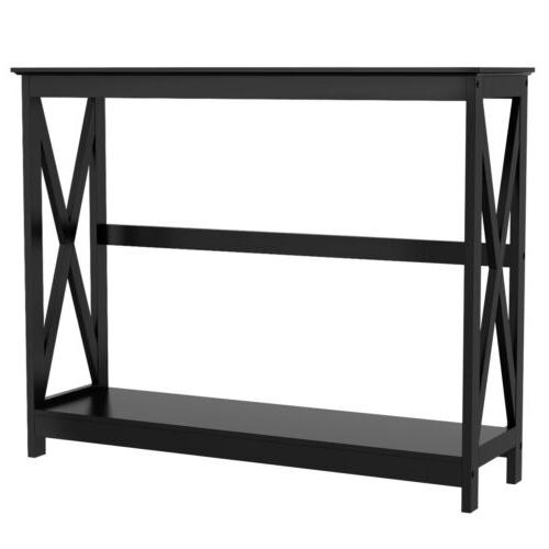 Console Table Modern Side Sofa Hall Display Storage