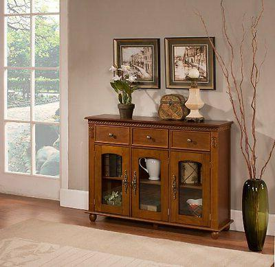 Kings with Glass Sideboard