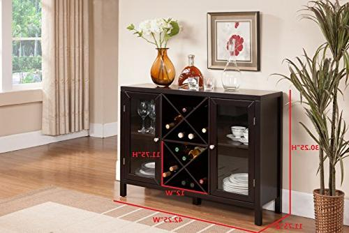 Kings Brand Wood Wine Table