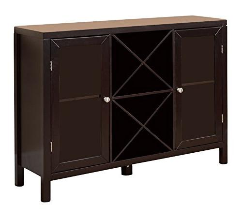 Kings Furniture Wine Table with Storage,