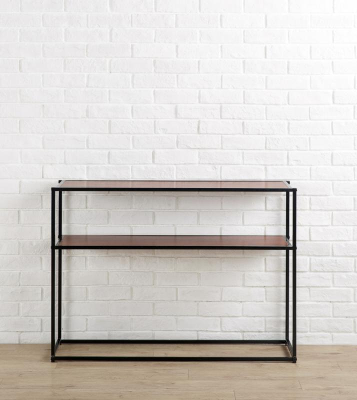 zinus kay modern studio collection console table