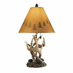 Ashley L316984 Derek Poly Table Lamp - Brown, Pack Of 2