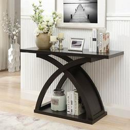 Furniture of America Leonard Sofa Console Table