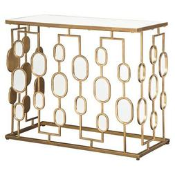 majaci 36 in mirrored console table