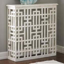 Global Views Marble Grid Block Console Table, Oversized Item
