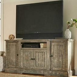 meadow tv stand weathered gray