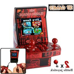 Piixy Kids Mini Classic Arcade Game Cabinet Machine with 183