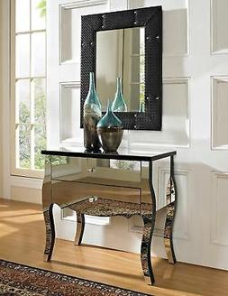 Powell Company Mirrored 2-Drawer Console