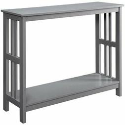 Convenience Concepts Mission Console Table in Gray