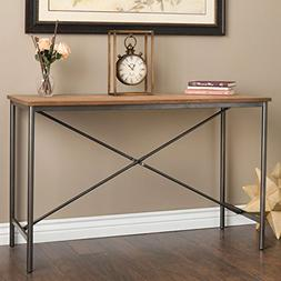 Modern Farmhouse Sofa Table Provides Vintage Style And Funct