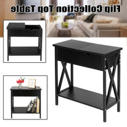Modern Style Top Table End Table Bookcase Console Table Nigh