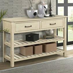 New Console Table Entryway Wood For Hallway Living Room with