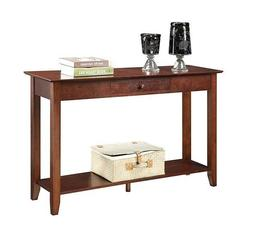 NEW Modern Wood Console Table Accent Entryway Sofa Hall Entr